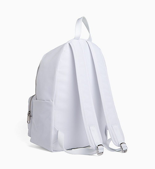 CALVIN KLEIN JEANS Andy Warhol Logo Backpack - BRIGHT WHITE - CALVIN KLEIN JEANS NEW IN - detail image 1