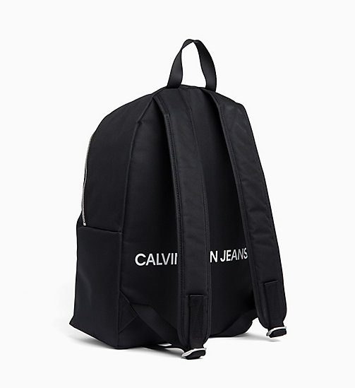 CALVIN KLEIN JEANS Andy Warhol Logo Backpack - BLACK - CALVIN KLEIN JEANS NEW IN - detail image 1