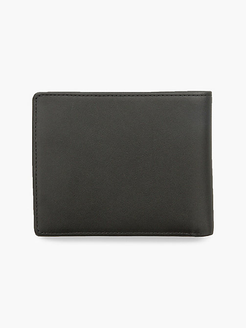 CALVIN KLEIN JEANS Leather Wallet - BLACK - CALVIN KLEIN JEANS WALLETS - detail image 1