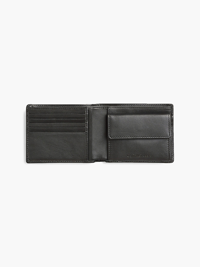 CALVIN KLEIN JEANS Leather Wallet - TURKISH COFFEE - CALVIN KLEIN JEANS MEN - detail image 2