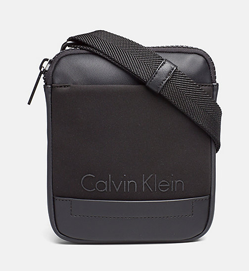 CALVINKLEIN Mini Flat Crossover - BLACK - CALVIN KLEIN SHOES & ACCESSORIES - main image