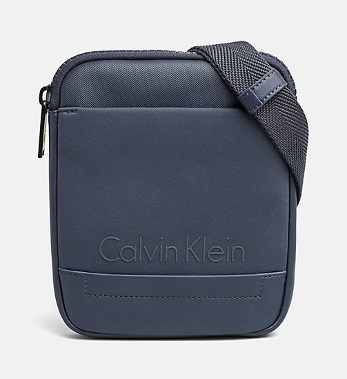 CALVINKLEIN Mini Flat Crossover - OMBRE BLUE - CALVIN KLEIN SHOES & ACCESSORIES - main image