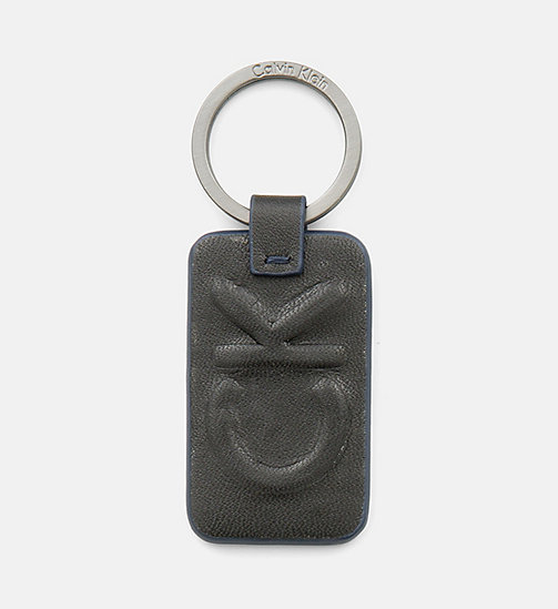 CALVINKLEIN Leather Keyring - BLACK -  SMALL ACCESSORIES - main image
