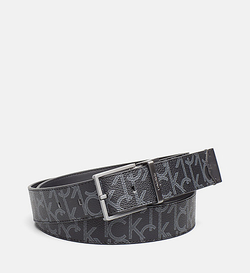 CALVINKLEIN Reversible Logo Belt - BLACK - CALVIN KLEIN BAGS & ACCESSORIES - main image