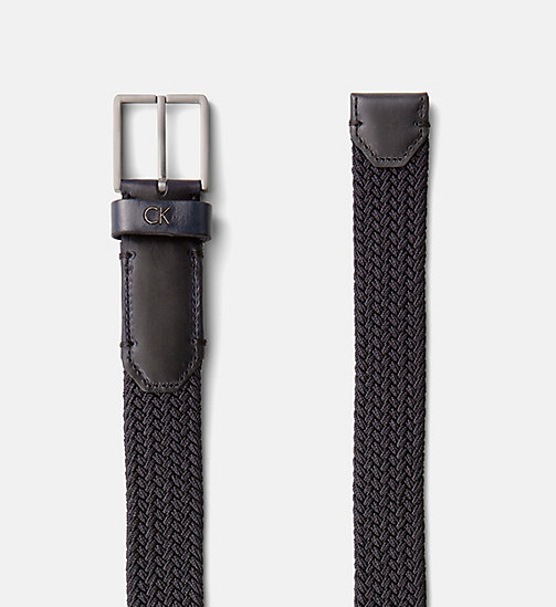 CALVINKLEIN Braided Belt - ECLIPSE - CALVIN KLEIN NEW NECESSITIES - detail image 1