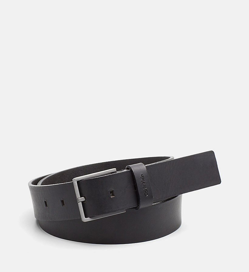 CALVINKLEIN Leather Belt - UNIHIBITED - CALVIN KLEIN MEN - main image
