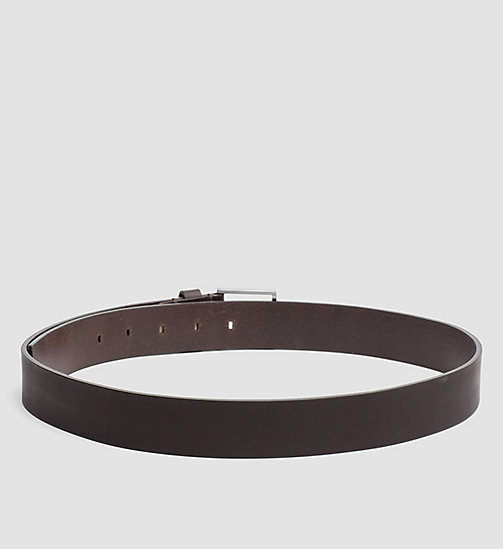 CALVINKLEIN Leather Belt - UNIHIBITED - CALVIN KLEIN SHOES & ACCESSORIES - detail image 1