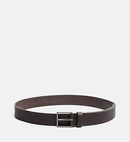 CALVINKLEIN Leather Belt - UNIHIBITED - CALVIN KLEIN SHOES & ACCESSORIES - main image