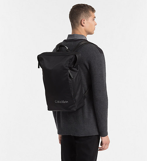 CALVINKLEIN Nylon Backpack - BLACK - CALVIN KLEIN NEW NECESSITIES - detail image 1