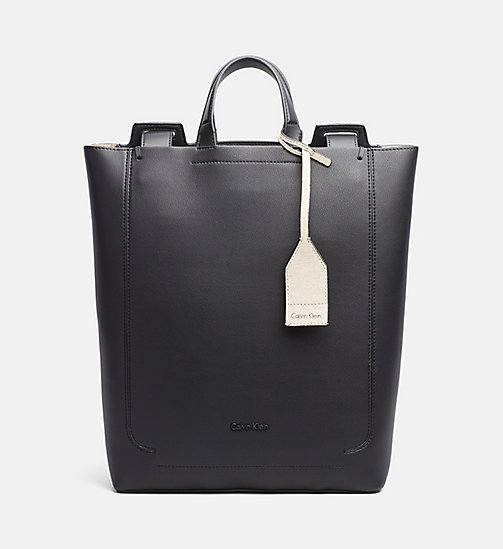 CALVINKLEIN Convertible Tote Bag - BLACK - CALVIN KLEIN SHOES & ACCESSORIES - main image