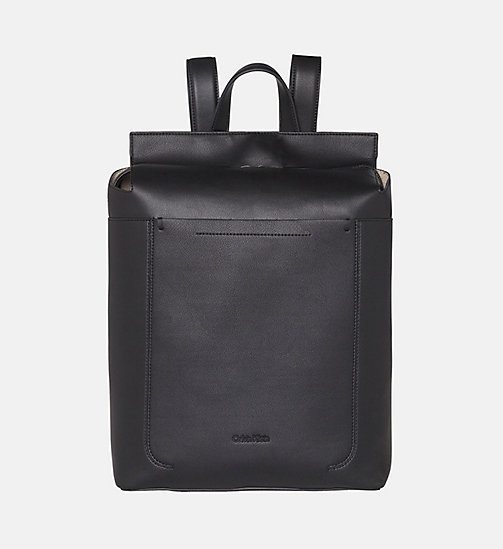 CALVINKLEIN Square Backpack - BLACK - CALVIN KLEIN BACKPACKS - main image