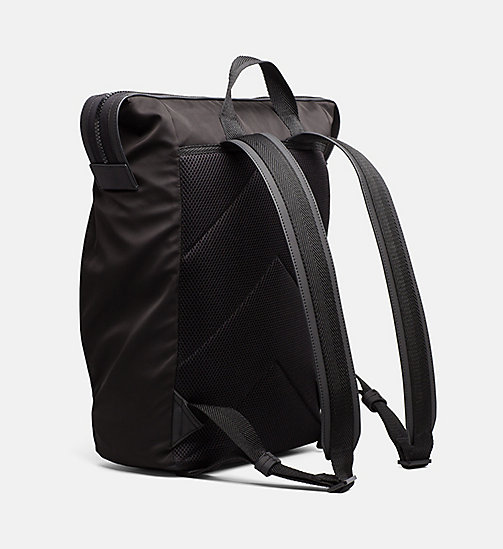 CALVINKLEIN Logo Square Backpack - BLACK - CALVIN KLEIN HEAT WAVE - detail image 1