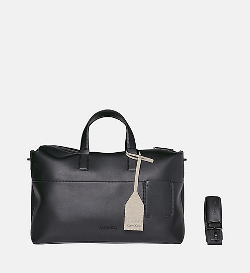 CALVINKLEIN Duffle Bag - BLACK - CALVIN KLEIN SHOES & ACCESSORIES - main image