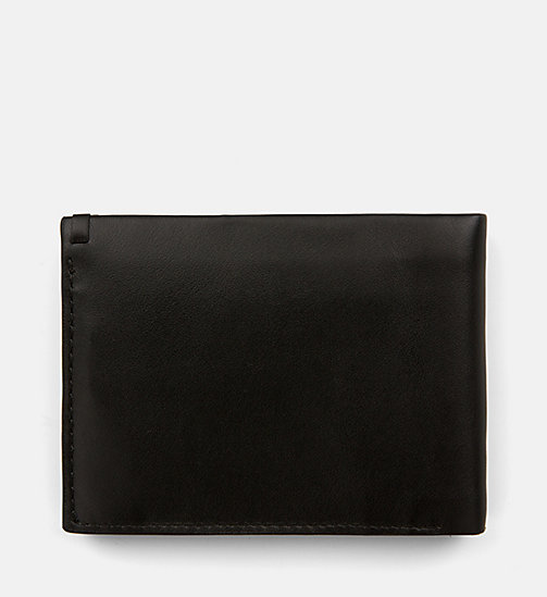 CALVINKLEIN Leather Wallet - BLACK - CALVIN KLEIN NEW IN - detail image 1