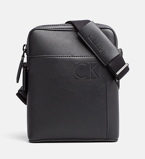 CALVINKLEIN Mini Reporter Bag - BLACK - CALVIN KLEIN BAGS & ACCESSORIES - main image