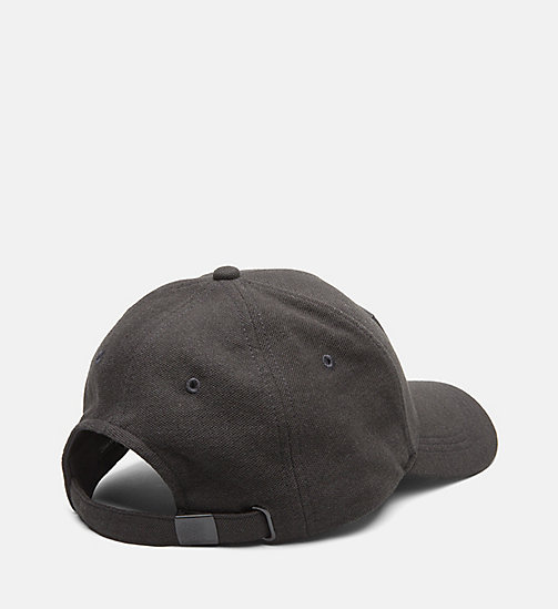 CALVINKLEIN Pique Baseball Cap - BLACK - CALVIN KLEIN NEW IN - detail image 1