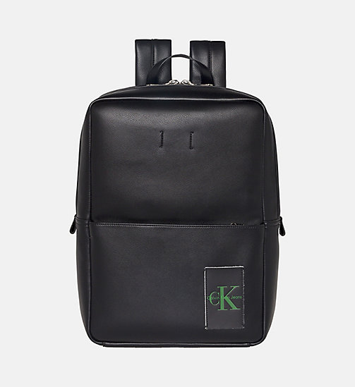 CALVIN KLEIN JEANS Medium Square Backpack - BLACK - CALVIN KLEIN JEANS NEW IN - main image