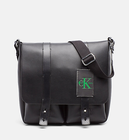 CALVIN KLEIN JEANS Messenger Bag - BLACK - CALVIN KLEIN JEANS NEW IN - main image