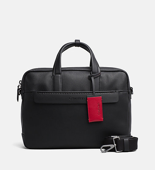 CALVINKLEIN Laptop Bag - BLACK - CALVIN KLEIN BAGS & ACCESSORIES - main image