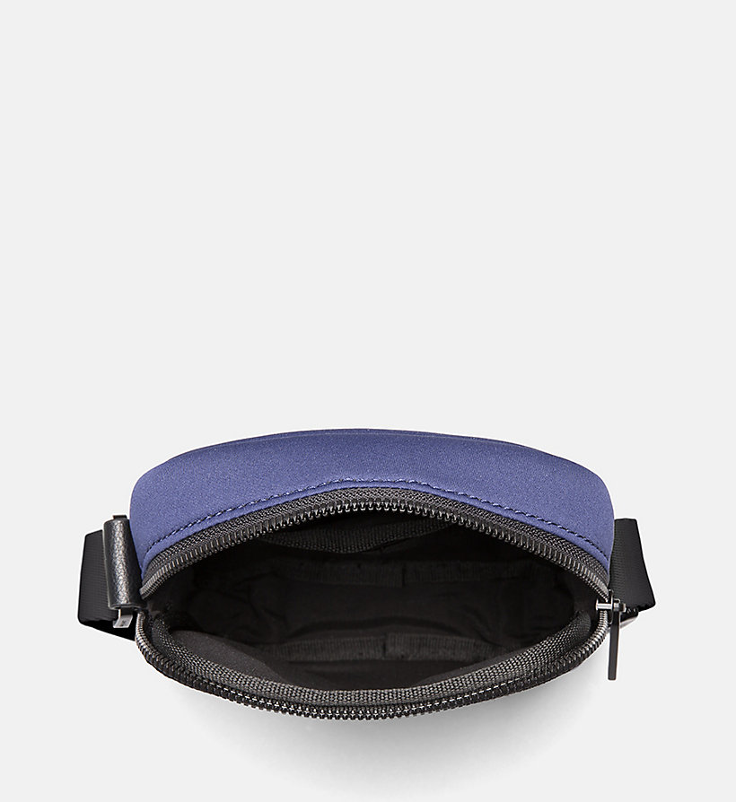 CALVIN KLEIN Neoprene Mini Reporter Bag - BLACK - CALVIN KLEIN MEN - detail image 3