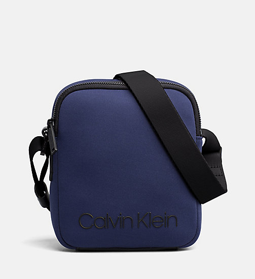 CALVINKLEIN Neoprene Mini Reporter Bag - NAVY - CALVIN KLEIN NEW IN - main image
