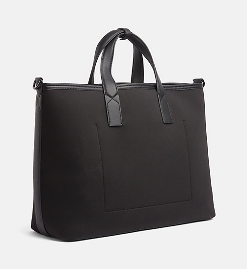 CALVINKLEIN Oversized Reversible Tote Bag - BLACK - CALVIN KLEIN NEW IN - main image