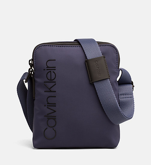 CALVINKLEIN Mini Reporter Bag - NAVY - CALVIN KLEIN NEW IN - main image