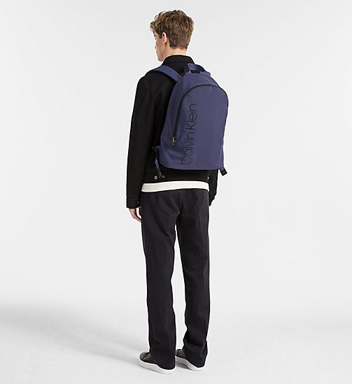 CALVINKLEIN Backpack - NAVY - CALVIN KLEIN BACKPACKS - detail image 1