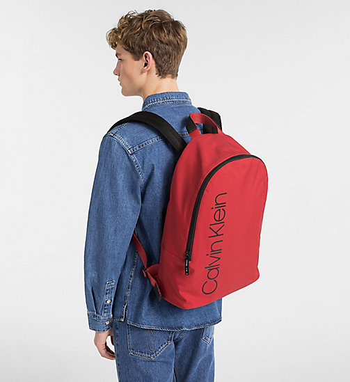 CALVINKLEIN Backpack - DARK RED - CALVIN KLEIN BACKPACKS - detail image 1