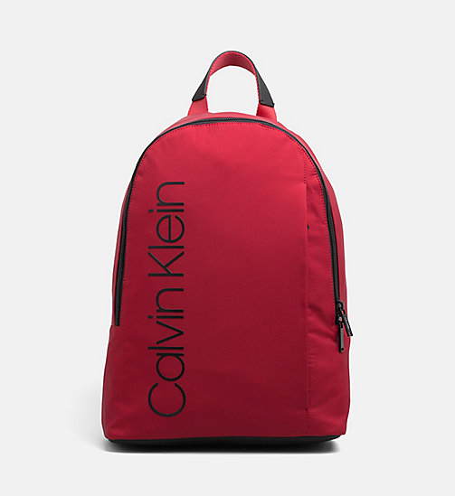 CALVINKLEIN Backpack - DARK RED - CALVIN KLEIN NEW IN - main image