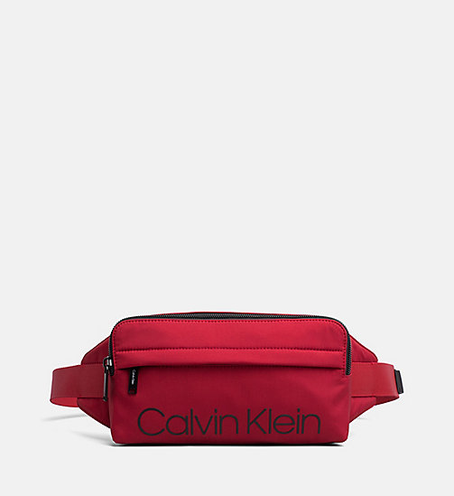 CALVIN KLEIN Bum Bag - DARK RED - CALVIN KLEIN BUM BAGS - main image