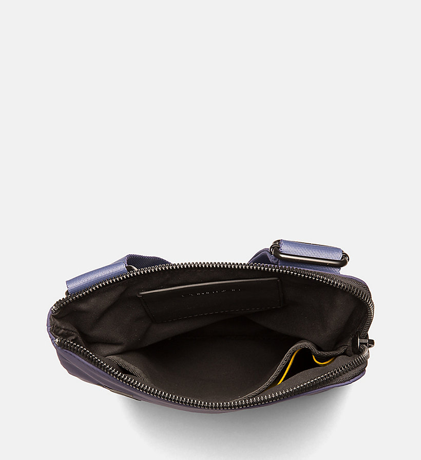 CALVIN KLEIN Flat Cross Body Bag - BLACK - CALVIN KLEIN MEN - detail image 3