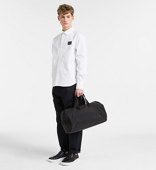 CALVINKLEIN Cylinder Duffle Bag - BLACK - CALVIN KLEIN SHOES & ACCESSORIES - detail image 1