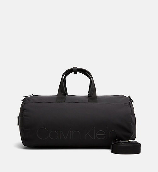 CALVINKLEIN Cylinder Duffle Bag - BLACK - CALVIN KLEIN SHOES & ACCESSORIES - main image
