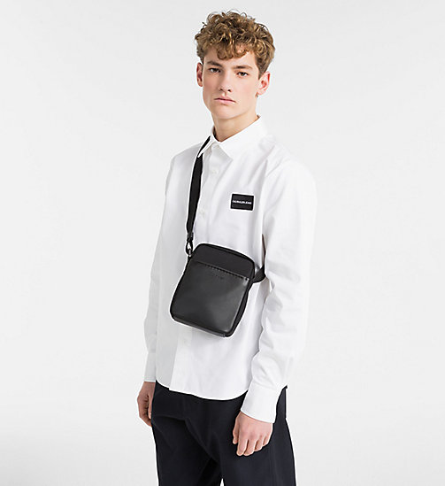 CALVINKLEIN Mini Reporter Bag - BLACK - CALVIN KLEIN NEW IN - detail image 1