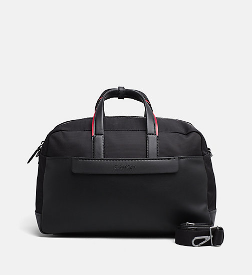 CALVINKLEIN Medium Duffle-Bag - BLACK - CALVIN KLEIN WEEKEND-BAGS - main image