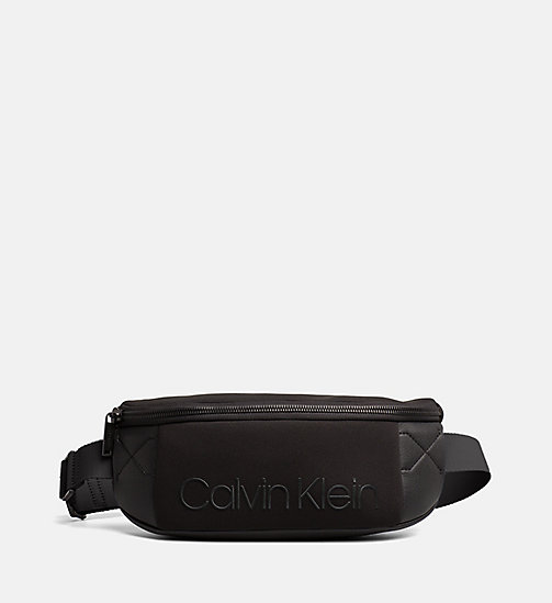 CALVINKLEIN Neoprene Waist Bag - BLACK - CALVIN KLEIN NEW IN - main image