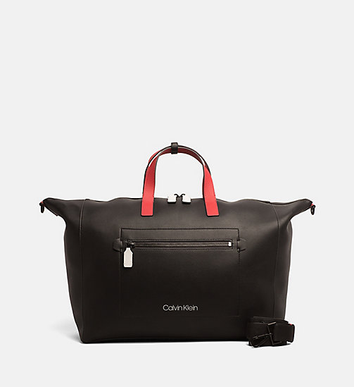 CALVINKLEIN Weekender Bag - BLACK - CALVIN KLEIN NEW IN - main image