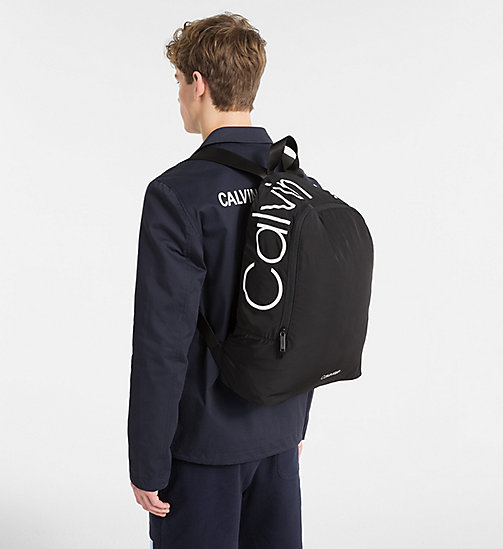 CALVINKLEIN Backpack - BLACK - CALVIN KLEIN NEW IN - detail image 1