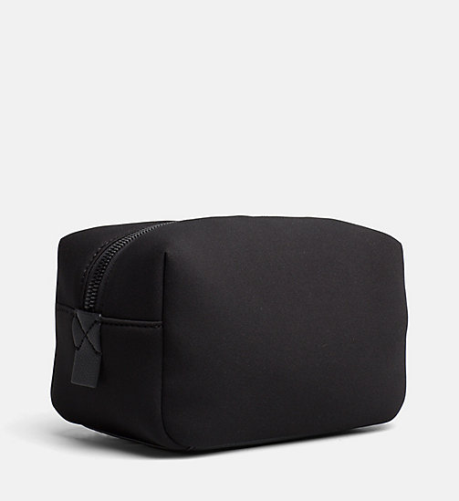 CALVINKLEIN Neoprene Wash Bag - BLACK - CALVIN KLEIN NEW IN - detail image 1