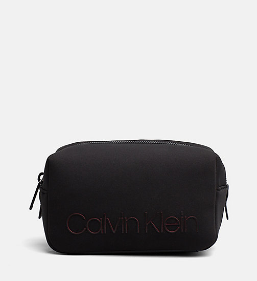 CALVINKLEIN Neoprene Wash Bag - BLACK - CALVIN KLEIN NEW IN - main image