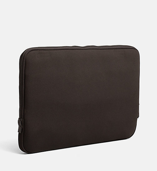 CALVINKLEIN Neoprene Laptop Sleeve - BLACK - CALVIN KLEIN WALLETS & SMALL ACCESSORIES - detail image 1