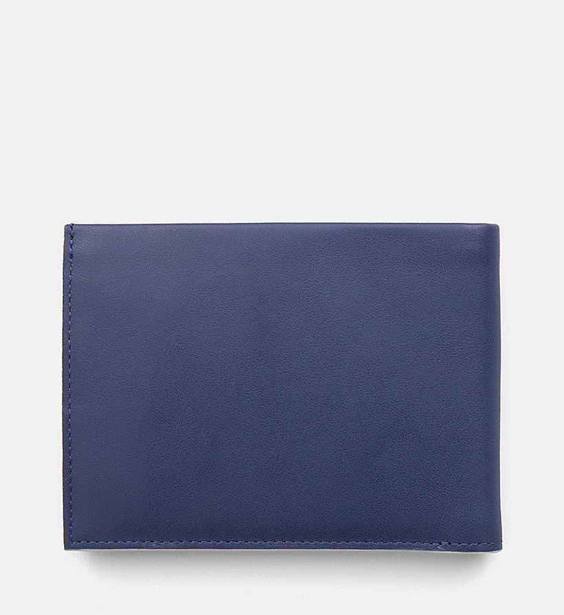 CALVINKLEIN Leather Wallet - BLACK - CALVIN KLEIN MEN - detail image 2