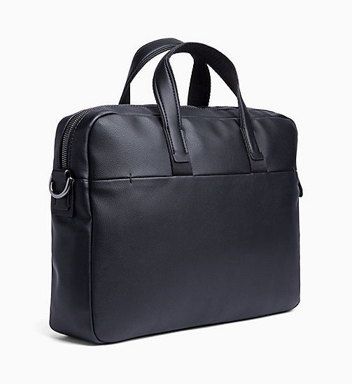 CALVIN KLEIN Laptop Bag - BLACK - CALVIN KLEIN LAPTOP BAGS - detail image 1