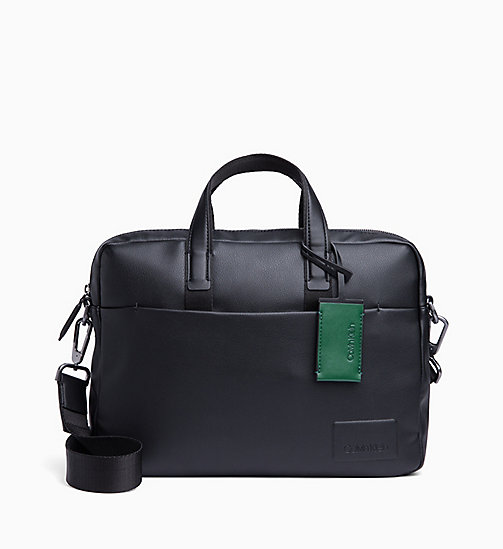 CALVIN KLEIN Laptop Bag - BLACK - CALVIN KLEIN BAGS - main image