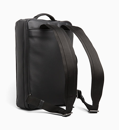 CALVIN KLEIN Briefcase Backpack - BLACK - CALVIN KLEIN BACKPACKS - detail image 1