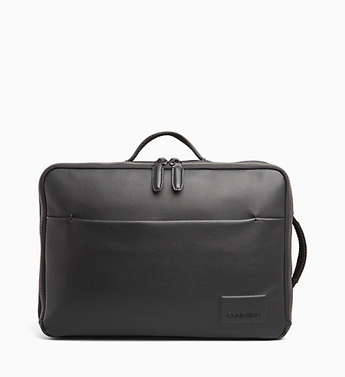 CALVINKLEIN Briefcase Backpack - BLACK - CALVIN KLEIN BACKPACKS - main image