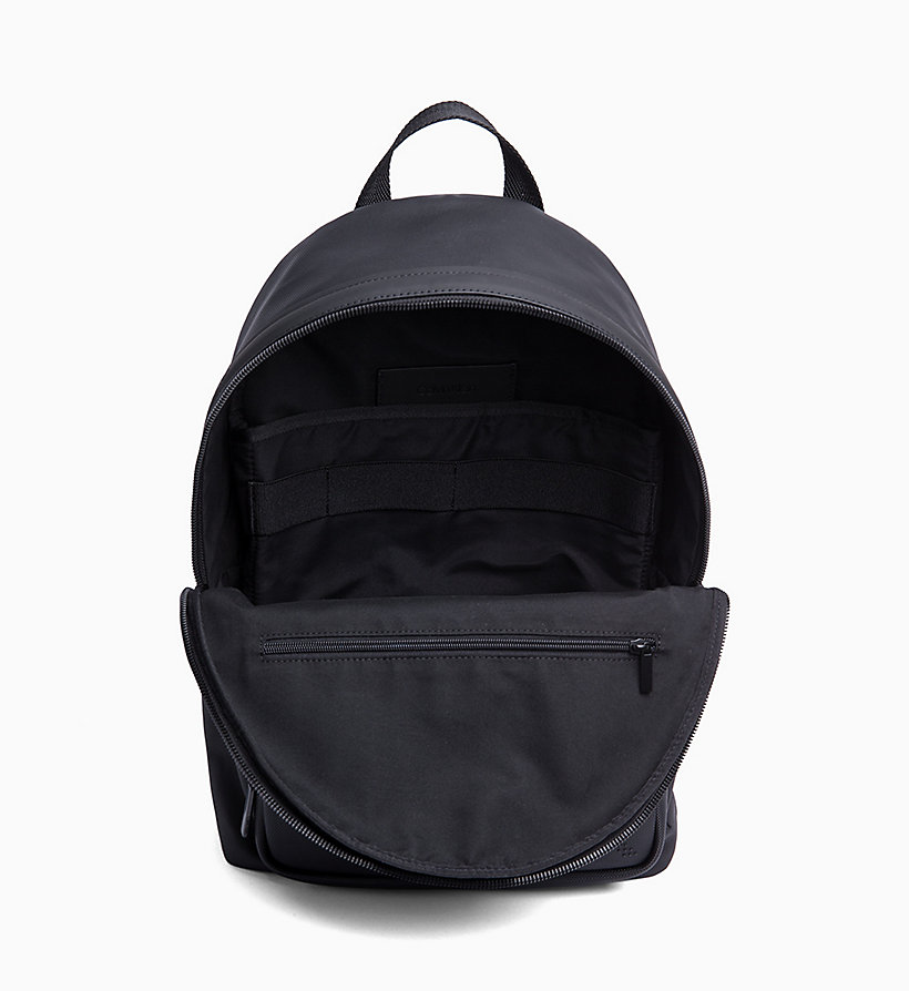 CALVINKLEIN Coated Canvas Round Backpack - NIGHTSCAPE - CALVIN KLEIN MEN - detail image 2