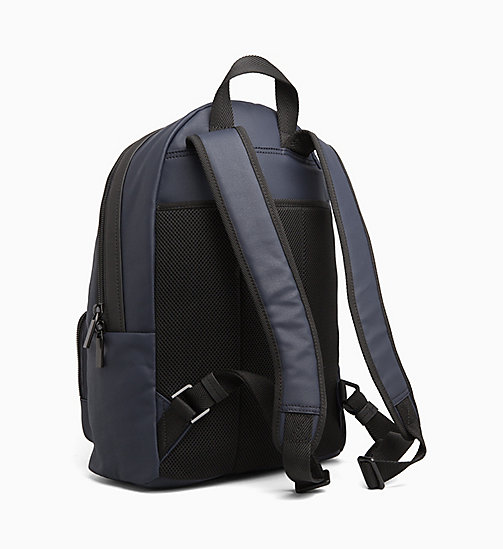 CALVINKLEIN Coated Canvas Round Backpack - NIGHTSCAPE - CALVIN KLEIN BACKPACKS - detail image 1