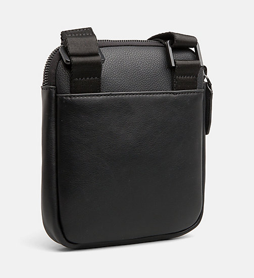 CALVINKLEIN Mini Flat Cross Body Bag - BLACK - CALVIN KLEIN CROSSOVER BAGS - detail image 1